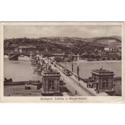 Hongrie - Budapest - Latkép a Margit-hiddal