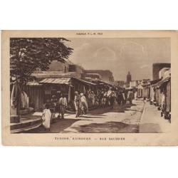 Tunisie - Kairouan - Rue Saunier