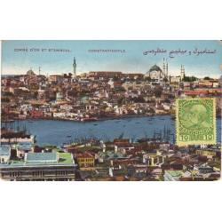 Turquie - Constantinople - Corne d'or et Stamboul