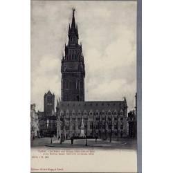Belgique - Gand - Halle aux draps et Beffroi