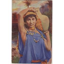 Egypte - Jeune porteuse d'eau