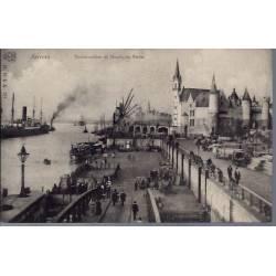 Belgique - Anvers - L'embarcadère animé