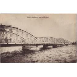 Senegal - Pont Faidherbe sur le fleuve