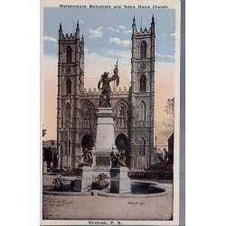 Canada - Montreal - Maisonneuve Monument