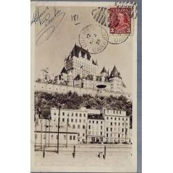 Canada - Chateau Frontenad from lower town