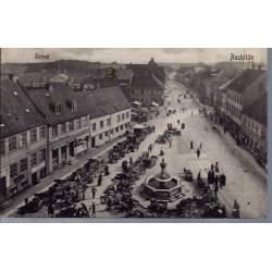 Danemark - Roskilde - Torvet - Animée - 1905