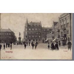 Danemark - Esbjerg - Torvet - Animée - 1904