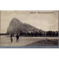 Gibraltar - Rock from the spanish frontier