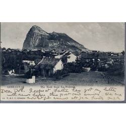 Gibraltar - The rock from La Pedrera