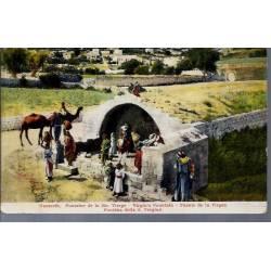 Israel - Nazareth - Fontaine de la Ste. Vierge