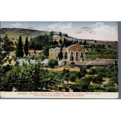 Israel - Jerusalem - Mt des Oliviers & Basilique