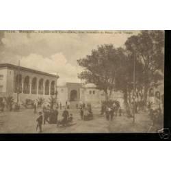 13 - EXPO. MARSEILLE -INTERIEUR DU PALAIS DE LA TUNISIE