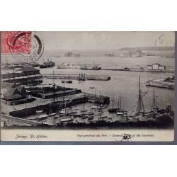 Jersey - St. Hélier - Vue générale du port