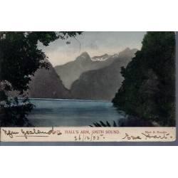 Nelle Zelande - Hall's Arm. Smith sound