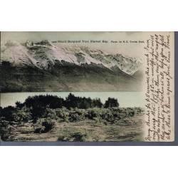 Nelle Zelande - Mount Bonpland from Blanket Bay