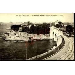 13 - MARSEILLE - CORNICHE -PONT FAUSSE MONNAIE -TRAMWAY