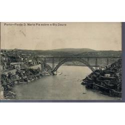 Portugal - Porte - Ponte D Maria Pia sobre o Douro