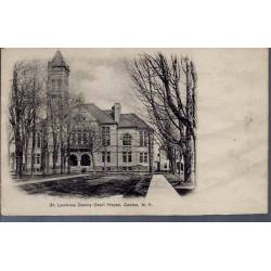 USA - Canton N.Y. - St Laurence County Court House