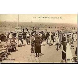 14 - Deauville - L'heure du bain