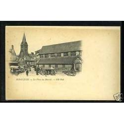 14 - Honfleur - La place du marche