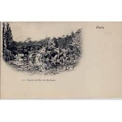 Paris Cascade du Bois de Boulogne Précurseur 1899