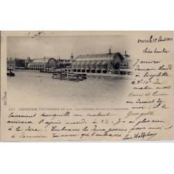 Paris - Expo. de 1900 - Grdes Serres et l'Aquarium