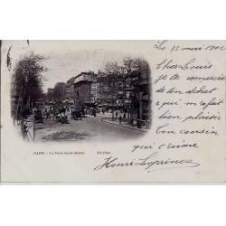 Paris - Porte St. Martin - Précurseur 1902