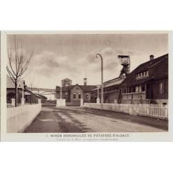 68 - Mines domaniales de Potasses d'Alsace - Entrée de la mine Joseph-Else (Gr