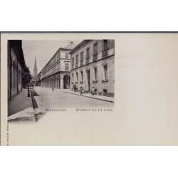 68 - Mulhouse - Avenue de la paix - Non voyagé - Dos divisé