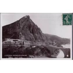 04 - Sisteron - Rocher de la Baume - Voyagé - Dos divisé