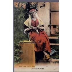 09 - Foix-st-Girons - Bethmalaise - Femme en costume d'époque -Voyagé - Dos di