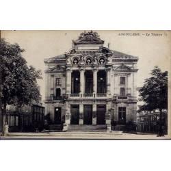 16 - Angoulême - Le théatre - Voyagé - Dos divisé
