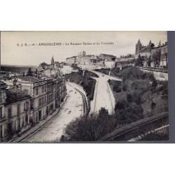 16 - Angoulême - Le rempart Desaix et les Rotondes - Non voyagé - Dos divisé