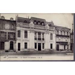 16 - Angoulême - La chambre de Commerce - Voyagé - Dos divisé