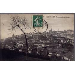 16 - Angoulême - Panorama de St-Martin - Voyagé - Dos divisé