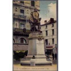 17 - La Rochelle - Statue de Jean Guiton - Voyagé - Dos divisé