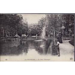 17 - La Rochelle - Le parc Charruyer - Voyagé - Dos divisé