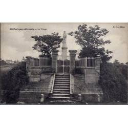 17 - St-Fort-sur-Gironde - La Vierge - Non voyagé - Dos divisé