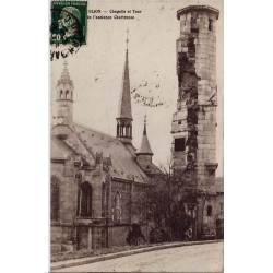 21 - Dijon - Chapelle et tour de l'ancienne Chartreuse - Voyagé - Dos divisé