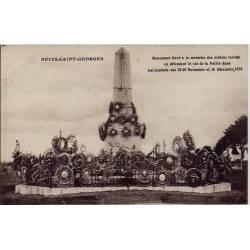 21 - Nuits-Saint-Georges - Monument élevé à la  mémoire des soldats tombés en