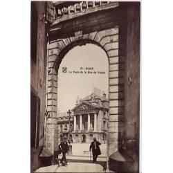 21 - Dijon - La porte de la rue du Palais - Non voyagé - Dos divisé