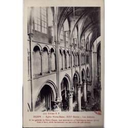 21 - Dijon - Eglise notre-Dame ( XIIIme siècle ) - Les galeries - Non voyagé -