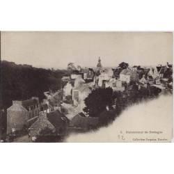 22 - Moncontour de Bretagne - vue de la ville - Non voyagé - Dos non divisé
