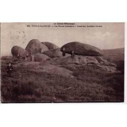 23 - Toulx-Ste-Croix  - La creuse pittoresque - Les pierres Jaumâtres - Autel