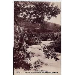 23 - La creuse pittoresque - Les bords du Thorion entre Vallières et Royère -