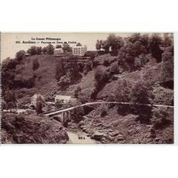 23 -- Anzème - La creuse pittoresque - Paysage au pont du diable - Voyagé - Do