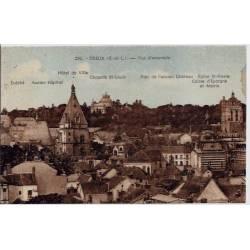 28 - Dreux - Vue d'ensemble - Hotel de ville - Ancien Hôpital - Parc de l'anci