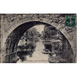 30 - Le Vigan - Les rives de l'Arre - Voyagé - Dos divisé