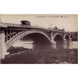 31 - Toulouse - Le Pont St-Michel - Non voyagé - Dos divisé