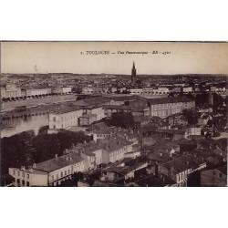 31 - Toulouse - Vue panoramique - Non voyagé - Dos divisé